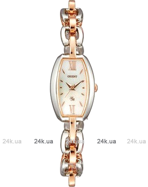 Женские японские часы Женские японские часы CUBTD003W0 Orient Браслет=сталь, Браслет=PVD, Водозащита= 30м