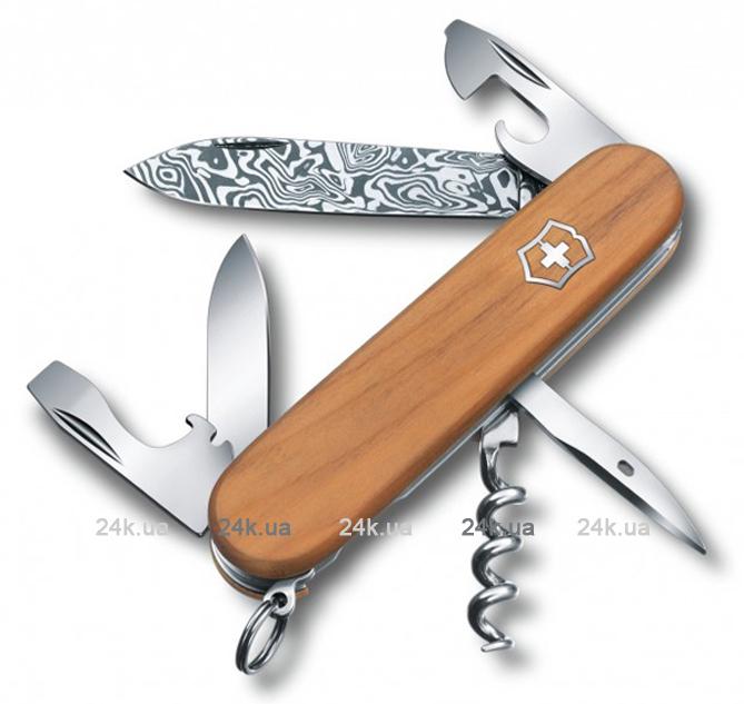 Нож складной Офицерский Victorinox 1.3601.J14 Spartan Damast Limited Editio