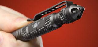 Акция Tawatec к часам  подарок - тактическая ручка-куботан для самообороны