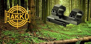 Акция к оптическим прицелам Hakko - моноблок для крепления Barska в подарок!