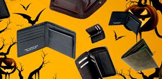 Ужасные скидки на потмоне и кошельки -10% на Хеллоуин