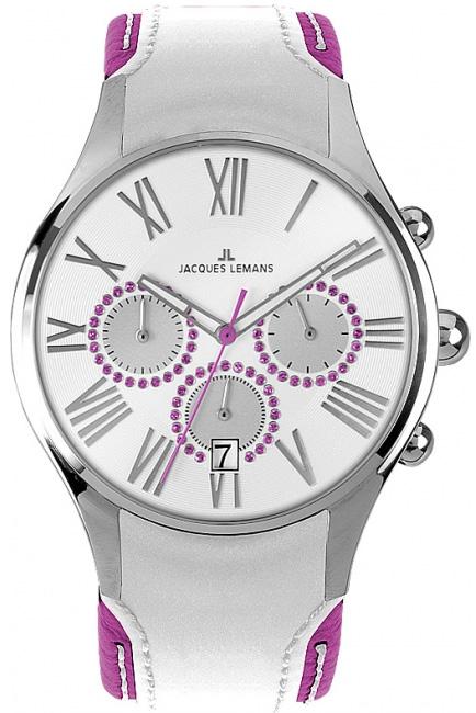 Наручные часы Jacques Lemans Capri 1-1605, 1-1606 1-1606E