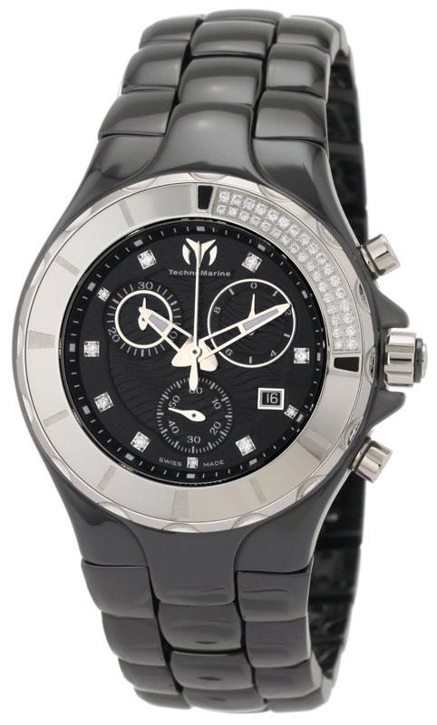 Наручные часы TechnoMarine Ceramic Monochrome Chrono 110029C