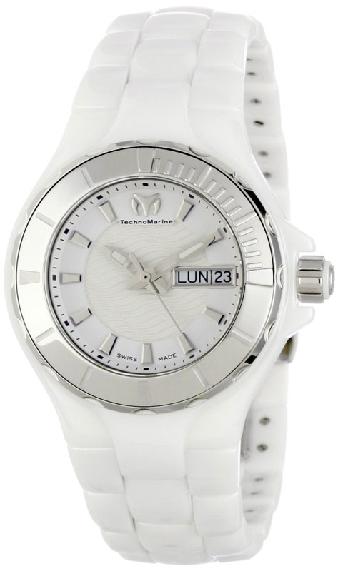 Наручные часы TechnoMarine Ceramic Monochrome Day Date 110022C