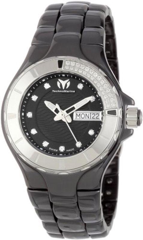 Наручные часы TechnoMarine Ceramic Monochrome Day Date 110027C