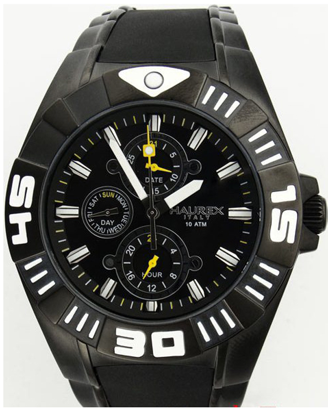 Наручные часы Haurex Black Mamba 1N319UNY