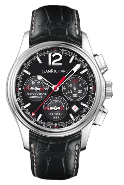 Наручные часы Jean Richard Bressel 1665 Chronograph 65112-11-61A-AA6D