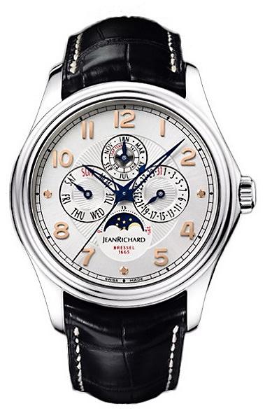 Наручные часы Jean Richard Bressel 1665 Perpetual Calendar 80112-53-11A-AA6