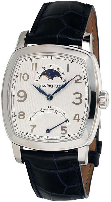 Наручные часы Jean Richard Grand TV Screen Retrograde Moon Phase 46016-11-10E-AA4D