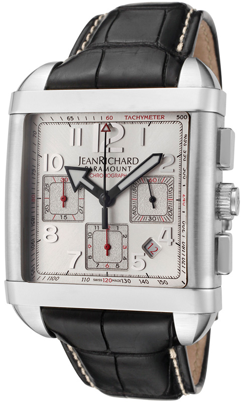 Наручные часы Jean Richard Paramount Square Chrono 65118-11-10A-AA6D