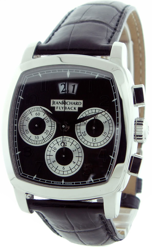 Наручные часы Jean Richard TV Screen Chrono Fly-Back 51116-11-60E-AA6D