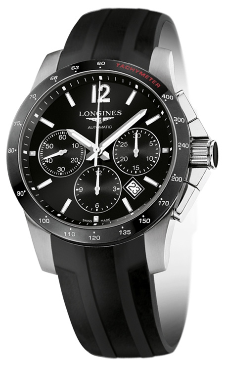 Наручные часы Longines Conquest Chronograph L2.744.4.56.2