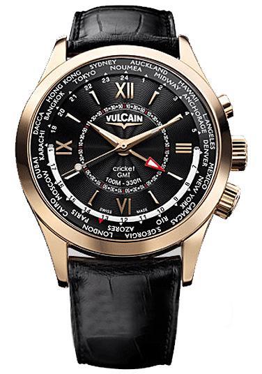 Наручные часы Vulcain Aviator GMT 100508.146L