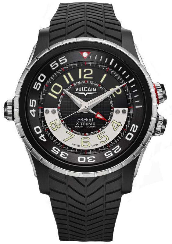 Наручные часы Vulcain Cricket X-Treme Diver 101924.160RF.BK