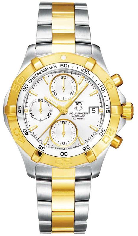 Наручные часы Tag Heuer Aquaracer Automatic Chronograph CAF2120.BB0816
