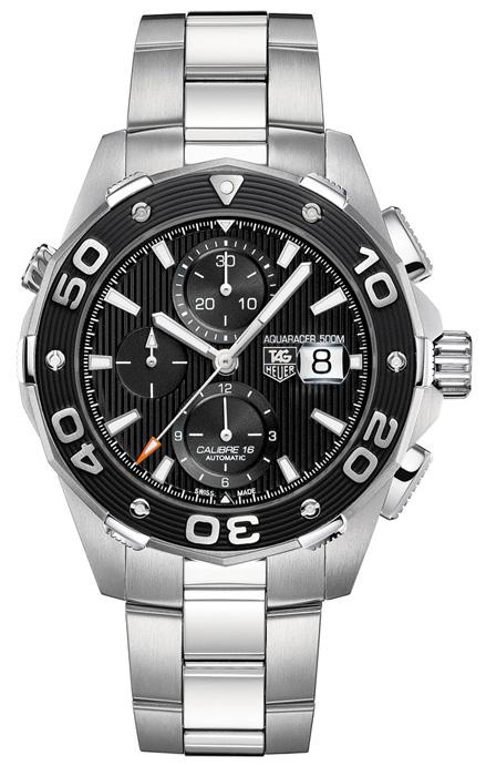 Наручные часы Tag Heuer Aquaracer Calibre 16 Automatic Chronograph CAJ2110.BA0872