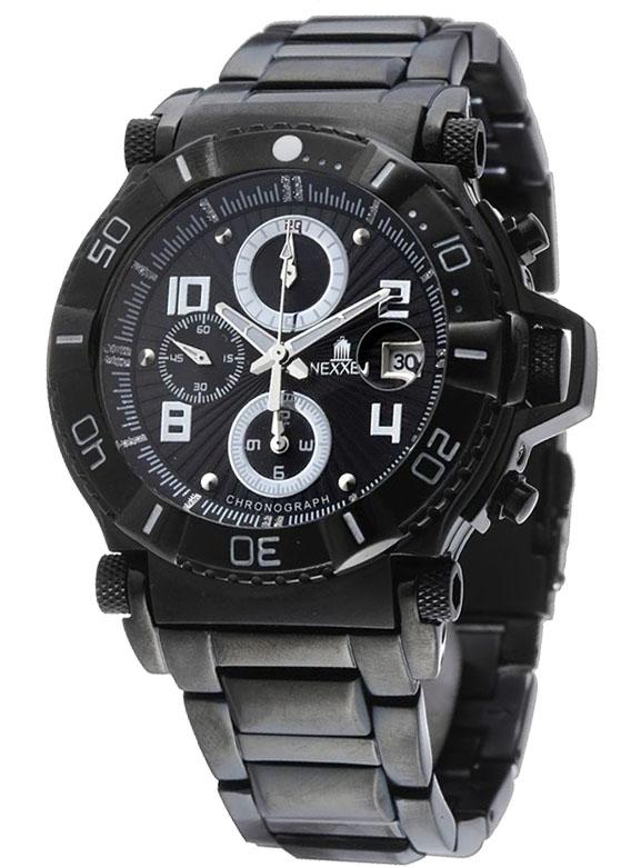 Наручные часы Nexxen Anold 10901 NE10901CHM BLK/BLK