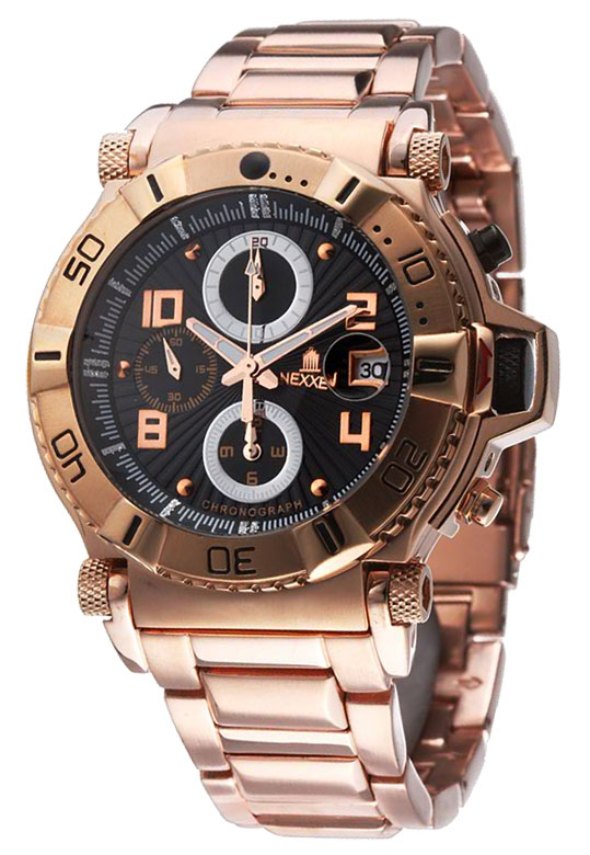 Наручные часы Nexxen Anold 10901 NE10901CHM RG/BLK