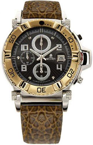 Наручные часы Nexxen Anold 10902 NE10902CHM 2T/BLK/BRN