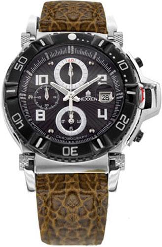 Наручные часы Nexxen Anold 10902 NE10902CHM PNP/BLK/BLK/BR
