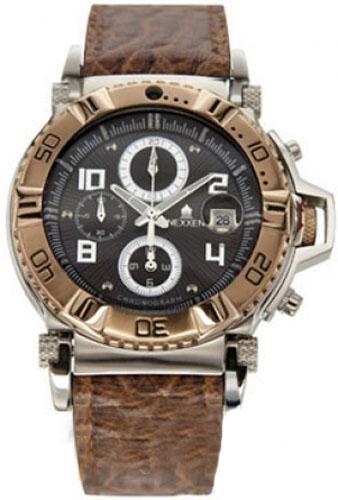 Наручные часы Nexxen Anold 10902 NE10902CHM RC/BLK/BRN