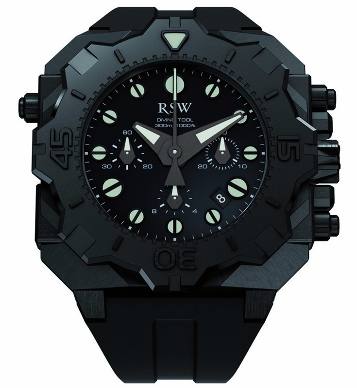 Наручные часы RSW Diving Tool Chronograph 4050.1.R1.1.00
