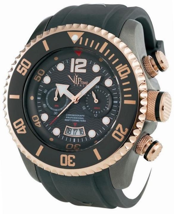 Наручные часы VIP Time Italy Magnum Chronograph VP5027GY