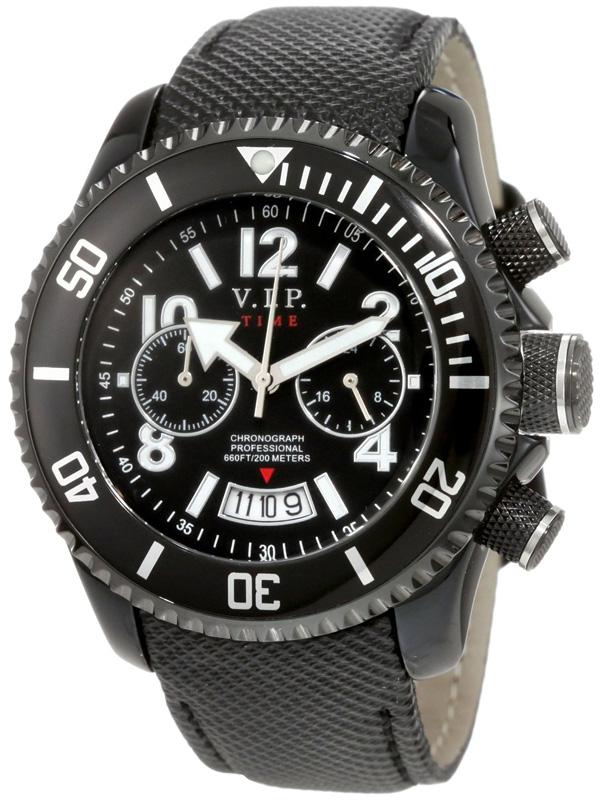 Наручные часы VIP Time Italy Magnum Chronograph VP8004BK