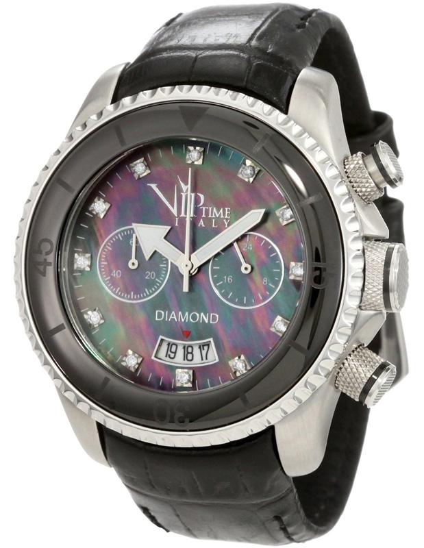 Наручные часы VIP Time Italy Magnum Diamond VP8008BK
