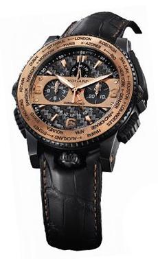 Наручные часы Vogard Titanium Cronozoner 18kt Gold Edition CZ 69