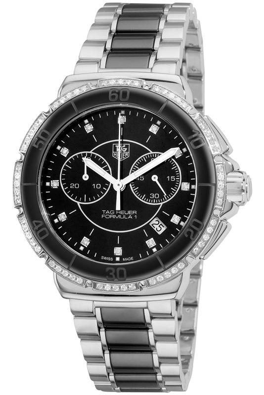 Наручные часы Tag Heuer Formula 1 Glamour Diamonds Chronograph CAH1212.BA0862