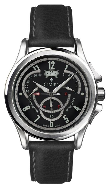 Наручные часы Cimier 1924 Chronographe Retrograde 2410-SS021