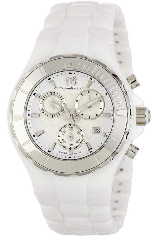 Наручные часы TechnoMarine Ceramic Monochrome Chrono 110030C