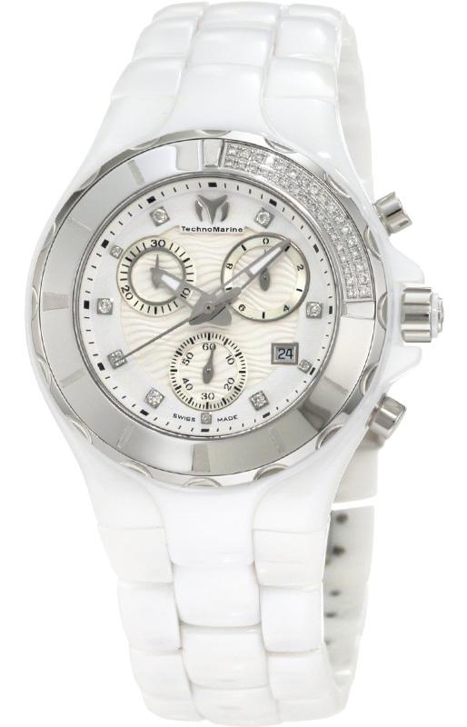 Наручные часы TechnoMarine Ceramic Monochrome Chrono 110031C