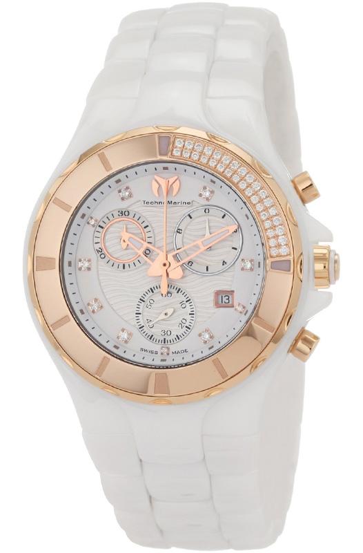 Наручные часы TechnoMarine Ceramic Monochrome Chrono 110033C