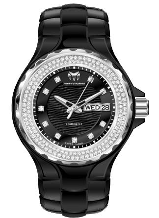 Наручные часы TechnoMarine Ceramic Monochrome Day Date 111054