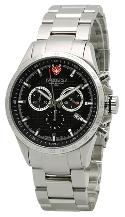 Наручные часы Swiss Eagle Corporal Chrono SE-9034-11