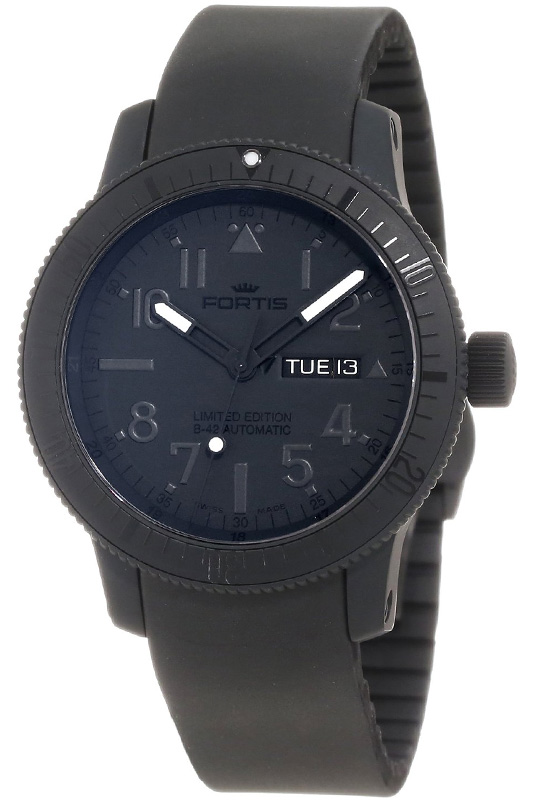 Наручные часы Fortis B42 Black Automatic 647.28.81 K
