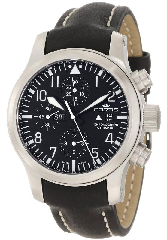 Наручные часы Fortis B42 Flieger Chronograph 656.10.11 L 01