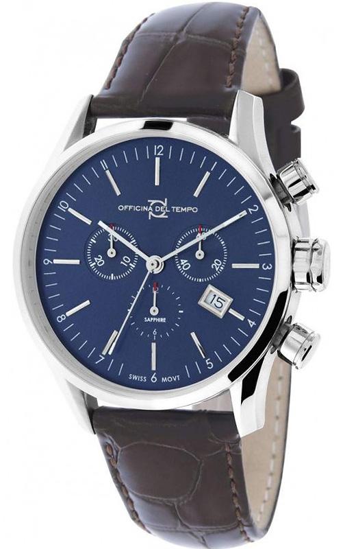 Наручные часы Officina del Tempo Business Chronograph OT1038-1100BM