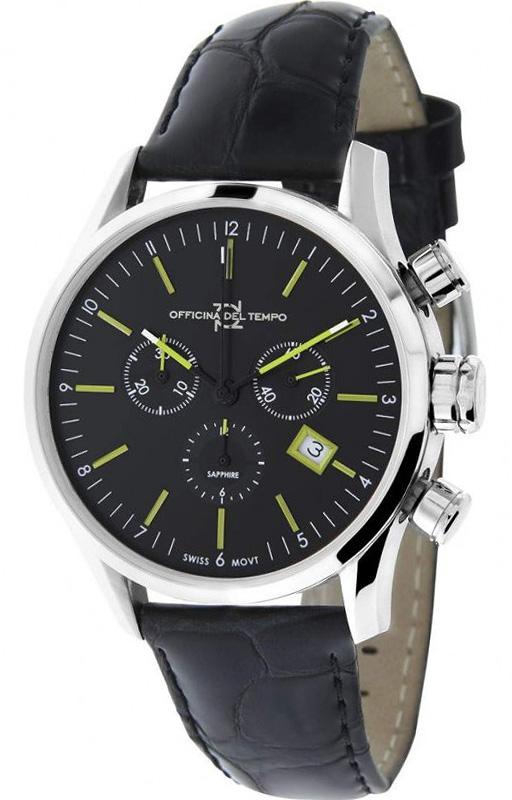 Наручные часы Officina del Tempo Business Chronograph OT1038-1100NGN