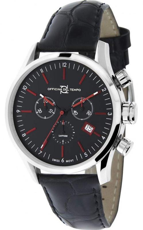 Наручные часы Officina del Tempo Business Chronograph OT1038-1100NRN