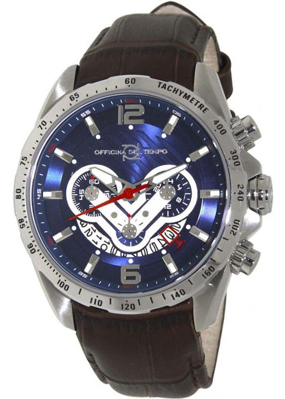Наручные часы Officina del Tempo Competition Chronograph OT1046-1120BM