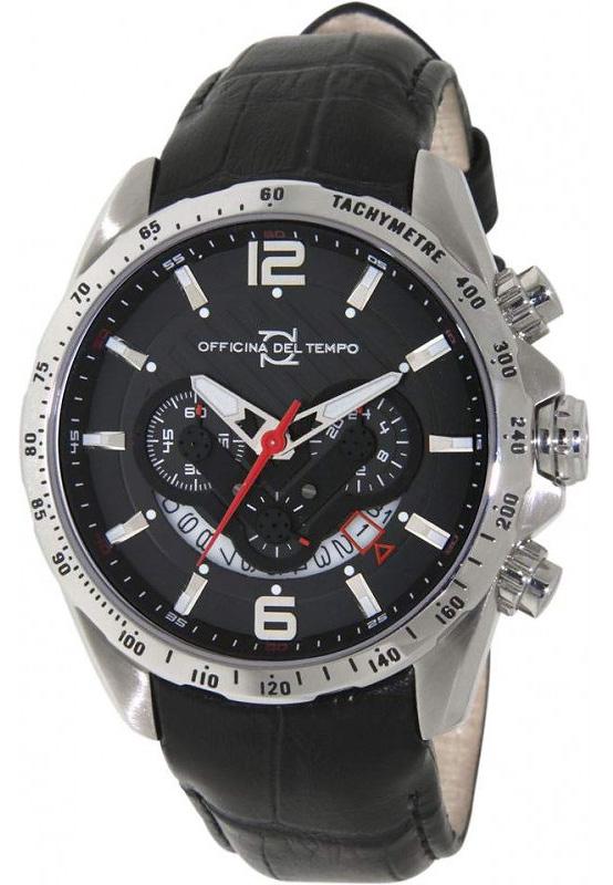 Наручные часы Officina del Tempo Competition Chronograph OT1046-1120N