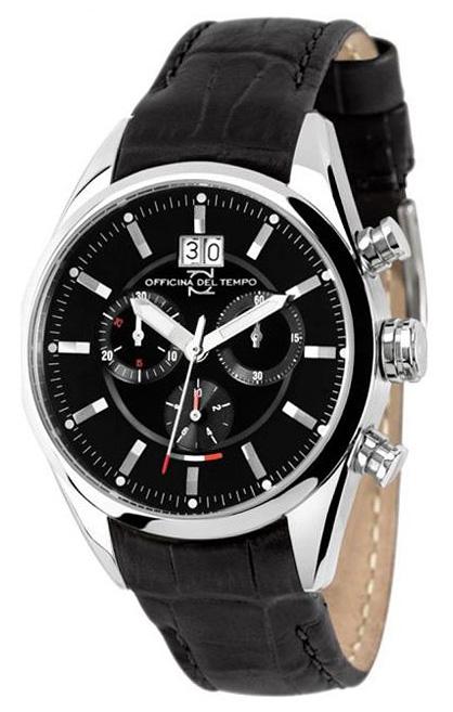 Наручные часы Officina del Tempo Elegance Chronograph OT1037-110NN