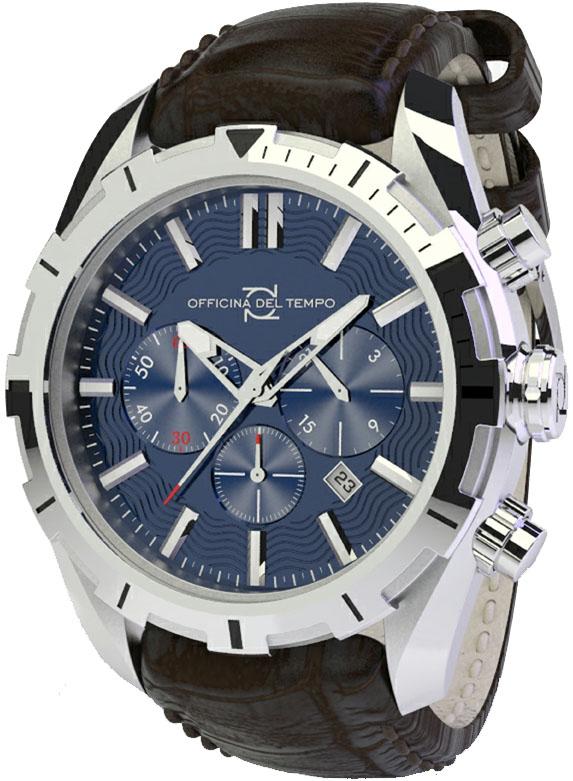Наручные часы Officina del Tempo Master Chronograph OT1049-1100BM