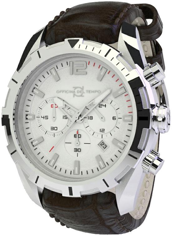 Наручные часы Officina del Tempo Master Chronograph OT1049-1120WM