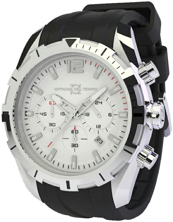 Наручные часы Officina del Tempo Master Chronograph OT1049-1121WN