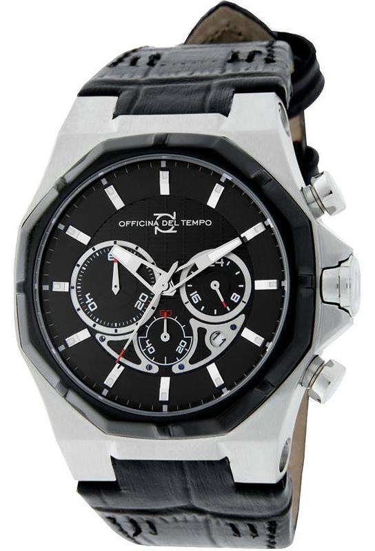 Наручные часы Officina del Tempo New Race Chronograph OT1041-1400N