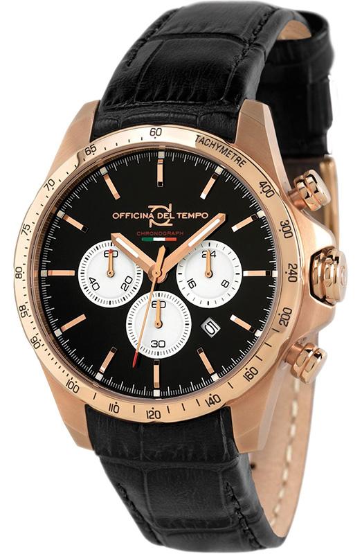 Наручные часы Officina del Tempo Sportivo Chronograph OT1036-130NGN